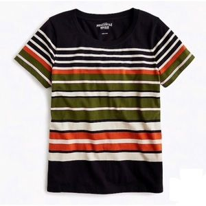 J. Crew Mercantile Broken-In Tee in Stripes